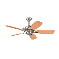 Kichler Lighting Canfield Fan in Brushed Stainless Steel 300107BSS