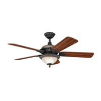 Kichler Lighting Roxton 3 Light Fan in Colton Bronze 300108CTZ
