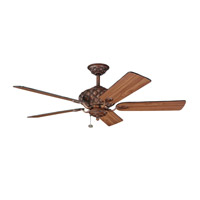 Kichler Lighting LaSalle Fan in Mediterranean Walnut 300109MDW