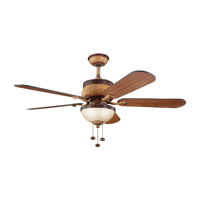 Kichler Lighting Novella Fan in Antique Leather 300110ALR photo thumbnail