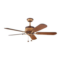 Kichler Lighting Novella Fan in Antique Leather 300110ALR alternative photo thumbnail