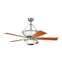 Kichler Lighting Lucia 2 Light Fan in Brushed Nickel 300111NI