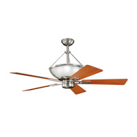 Kichler Lighting Lucia 2 Light Fan in Brushed Nickel 300111NI alternative photo thumbnail