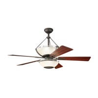 Kichler Lighting Lucia 2 Light Fan in Olde Bronze 300111OZ photo thumbnail