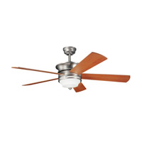 Kichler 300114NI Hendrik Brushed Nickel Maple Fan alternative photo thumbnail
