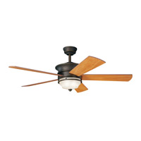 Kichler 300114OZ Hendrik Olde Bronze with Walnut Blades Fan alternative photo thumbnail