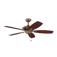 Kichler Lighting Canfield Fan in Antique Wood 300117AWD