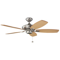 Kichler 300117NI Canfield 52 inch Brushed Nickel with WALNUT/CHERRY Blades Ceiling Fan  alternative photo thumbnail