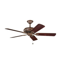 Kichler Lighting Bentzen Fan in Antique Wood 300118AWD alternative photo thumbnail