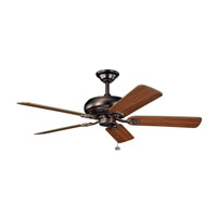 Kichler 300118OBB Bentzen 52 inch Oil Brushed Bronze with Walnut Blades Fan