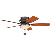 Kichler Lighting Windham 3 Light Fan in Oil Brushed Bronze 300119OBB alternative photo thumbnail