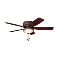 Kichler 300119TZ Windham 52 inch Tannery Bronze with Teak Blades Outdoor Fan