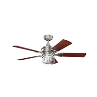 Kichler 300120AP Lyndon 52 inch Antique Pewter with Cherry MS-98514 Blades Fan