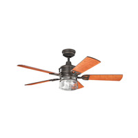 Kichler 300120OZ Lyndon 52 inch Olde Bronze Cherry MS-5291 Fan