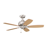Kichler Lighting Richland Fan in Brushed Stainless Steel 300123BSS