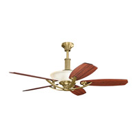 Kichler 300126NBR Palla 56 inch Natural Brass with Medium Cherry Blades Ceiling Fan