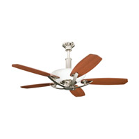 Palla Polished Nickel with Maple Blades Fan