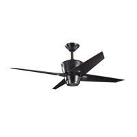 Kichler Lighting Kemble Fan in Satin Black 300132SBK photo thumbnail