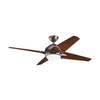 Kichler Lighting Rivetta 1 Light Fan in Oil Brushed Bronze 300133OBB alternative photo thumbnail
