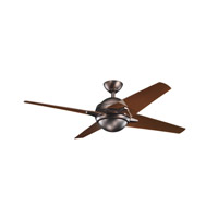 Kichler Lighting Rivetta 1 Light Fan in Oil Brushed Bronze 300133OBB photo thumbnail