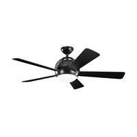 Kichler Lighting Botella Fan in Satin Black 300134SBK photo thumbnail
