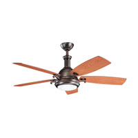 Kichler Lighting Saint Andrews 1 Light Fan in Oil Brushed Bronze 300135OBB