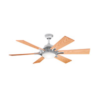 Kichler Lighting Valkyrie 3 Light Fan in Brushed Aluminum 300136BA alternative photo thumbnail