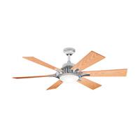 Kichler Lighting Valkyrie 3 Light Fan in Brushed Aluminum 300136BA
