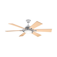 Kichler Lighting Valkyrie 3 Light Fan in Brushed Aluminum 300136BA