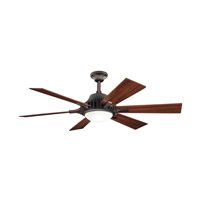 Kichler Lighting Valkyrie 3 Light Fan in Oil Brushed Bronze 300136OBB alternative photo thumbnail