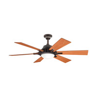 Kichler Lighting Valkyrie 3 Light Fan in Oil Brushed Bronze 300136OBB photo thumbnail