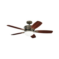 Kichler 300138OLZ Carlson Oiled Bronze with Cherry Ms-98510 Blades Fan