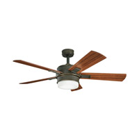 Kichler Lighting Walker 2 Light Fan in Oiled Bronze 300139OLZ photo thumbnail