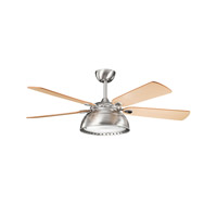 Kichler Lighting Vance 3 Light Fan in Brushed Stainless Steel 300142BSS