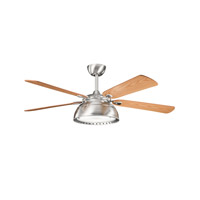 Kichler Lighting Vance 4 Light Fan in Brushed Stainless Steel 300142BSS