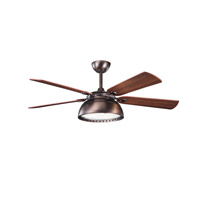 Kichler Lighting Vance 4 Light Fan in Oil Brushed Bronze 300142OBB photo thumbnail