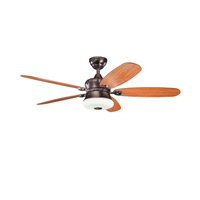 Kichler Lighting Fitch 3 Light Fan in Oil Brushed Bronze 300144OBB photo thumbnail