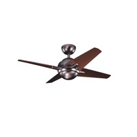 Kichler Lighting Rivetta 1 Light Fan in Oil Brushed Bronze 300147OBB alternative photo thumbnail
