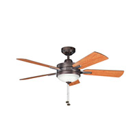 Kichler 300148OBB Logan Oil Brushed Bronze with Walnut Ms-97503 Blades Fan alternative photo thumbnail