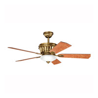 Kichler Lighting Dorset Fan in Burnished Antique Brass 300152BAB