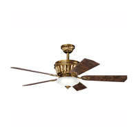 Kichler Lighting Dorset Fan in Burnished Antique Brass 300152BAB alternative photo thumbnail