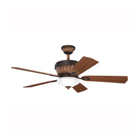 Kichler Lighting Dorset Fan in Mediterranean Walnut 300152MDW photo thumbnail