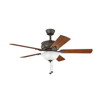 Kichler Lighting Athens 3 Light 52 inch Fan in Satin Natural Bronze 300158SNB alternative photo thumbnail