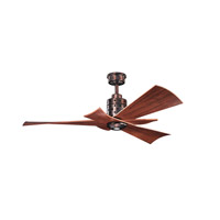 Kichler Frey 1 Light Fan in Oil Brushed Bronze 300163OBB