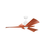 Kichler Frey 1 Light Fan in White 300163WH