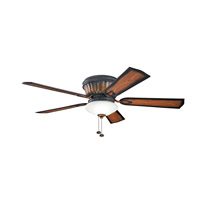 Kichler Dorset 3 Light Fan in Mediterranean Walnut 300172MDW