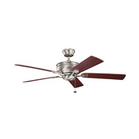 Duvall 52 inch Antique Pewter with Cherry MS-98514 Blades Fan