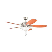 Kichler 300179NI Rokr 52 inch Brushed Nickel Walnut MS-97503 Fan