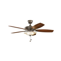 Kichler 300179OZ Rokr 52 inch Olde Bronze with Walnut MS-97503 Blades Fan thumb