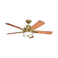 Kichler Lighting Lacey Fan in Burnished Antique Brass 300181BAB alternative photo thumbnail